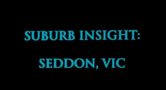 Excellent Capital Growth suburb, Seddon, Victoria Australia