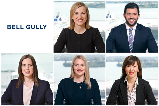 Bell Gully grows senior ranks with five appointments