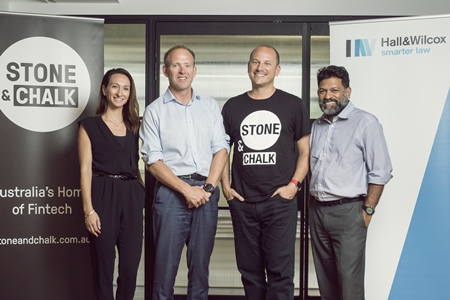 National firm partners with fintech start-up hub