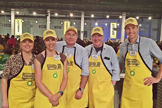 Leading lawyers join industry leaders to cook for those in need