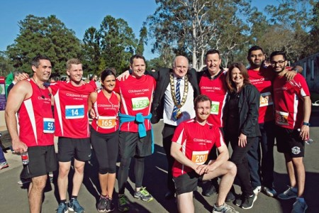 Coleman Greig raises record amount in annual charity race