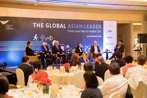 Global firms lacking Asian leaders