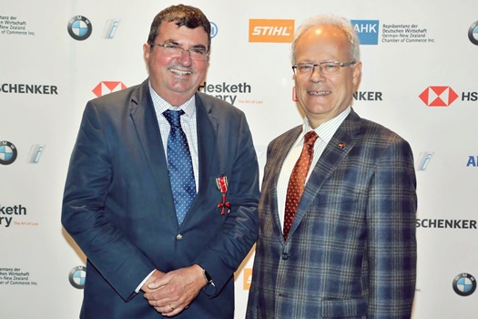 Germany honours Hesketh Henry's managing partner