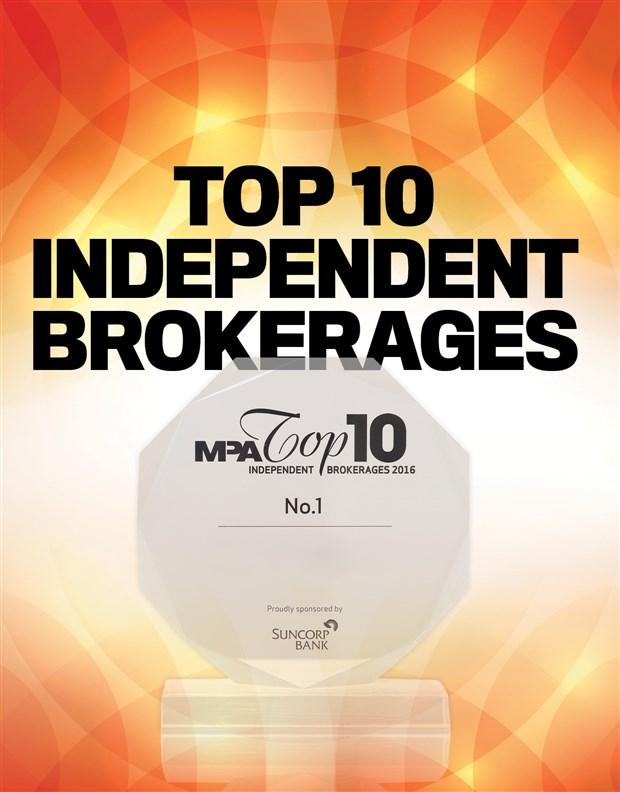 2016 Top Independent Brokerages