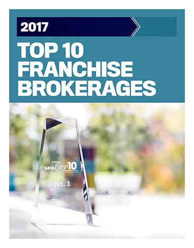 2017 Top 10 Franchise Brokerages