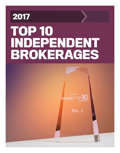 2017 Top 10 Independent Brokerages