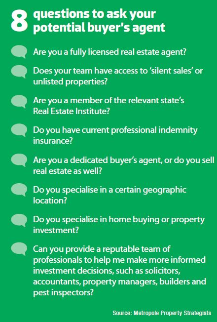 8 Questions to Ask your Buyer's Agent