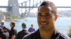 All Blacks go all out for AIG Amazing Race