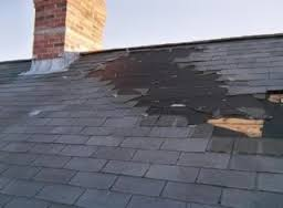 Example of roofing problems
