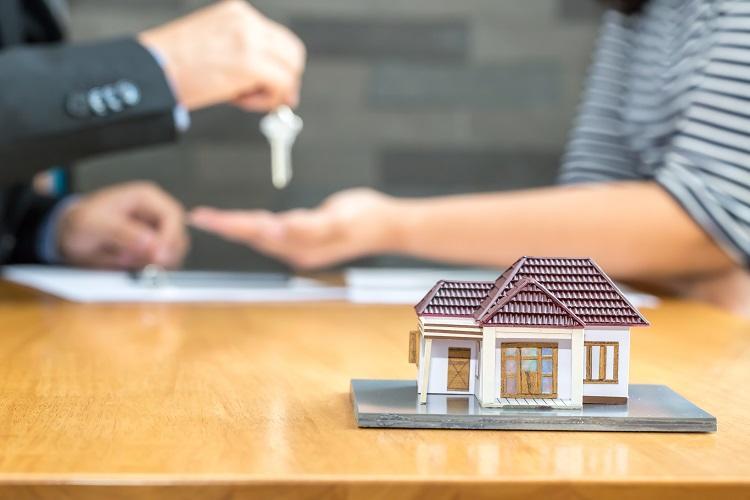 A bank approves a home loan