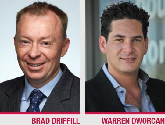 Brad Driffill Warren Dworcan
