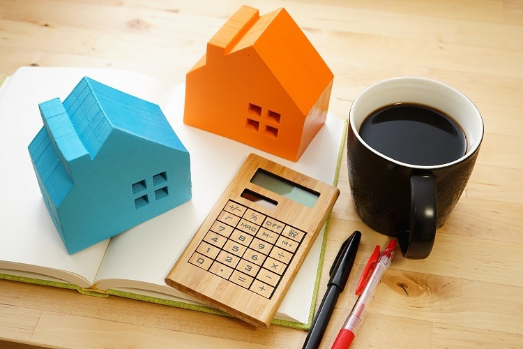 You'll need a calculator and some coffee to figure out the price of a home