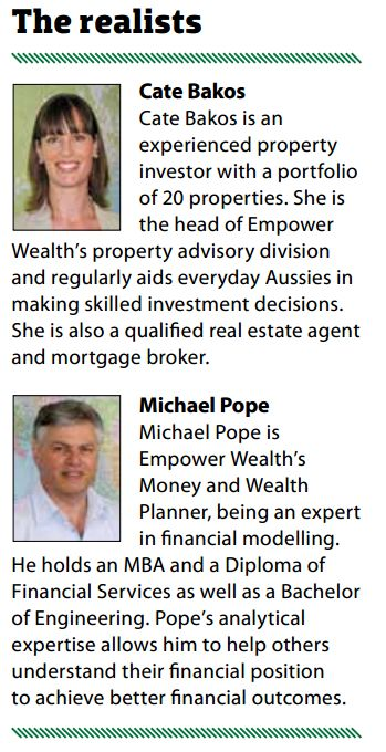 Cate Bakos & Michael Pope