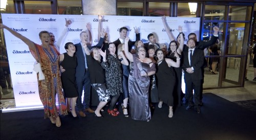 Education sector celebrates night of nights