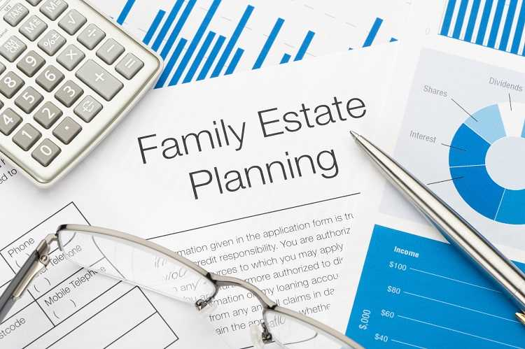 Family estate planning can include purchasing property