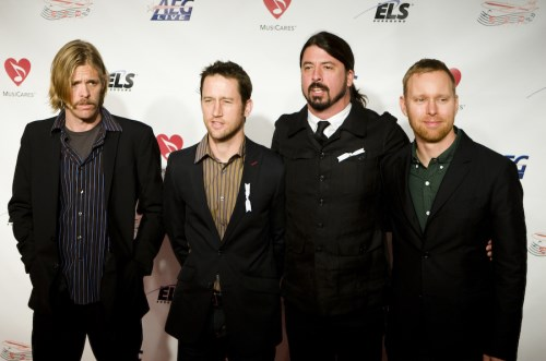 Foo Fighters sue insurer over concert cancellation