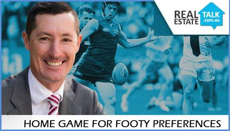 Home game for footy preferences