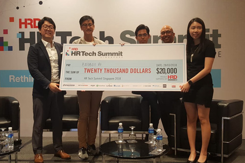 Start-up wins big at HR Tech Summit Singapore
