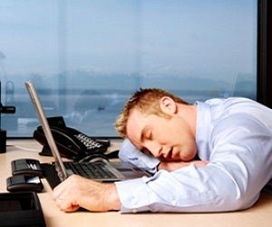 Forty winks at work could cost a fortune