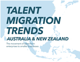 Find out where talent is moving in A/NZ