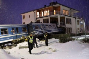 Rogue cleaner commandeers Swedish train