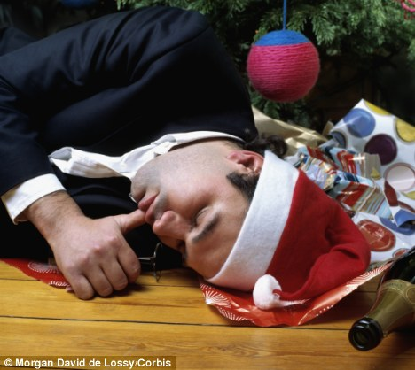 How much should managers drink at Christmas functions?