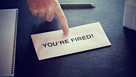You're fired: worst reactions revealed