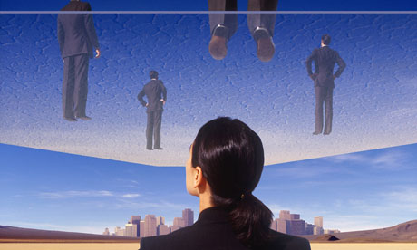 Does the glass ceiling still exist?