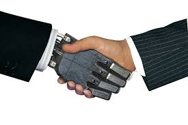 Lighter Side: Handshakes so effective in business that they even work with robots