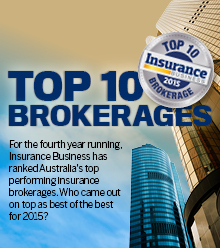 2015 Top 10 Brokerages - Australia