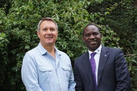 Warren Hutcheon and Bunmi Ajayi: Taking care of business