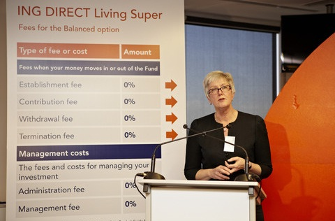 ING DIRECT Living Super launch