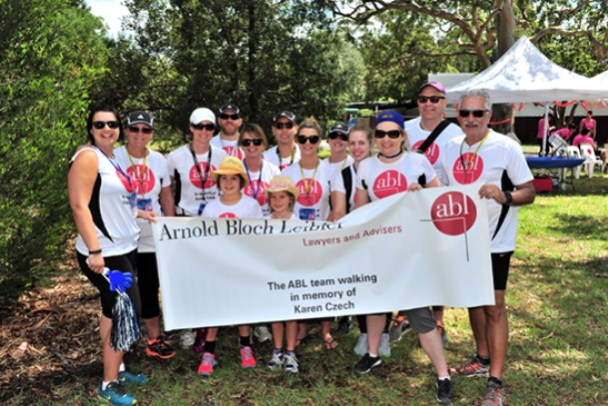 Weekend to End Women's Cancers walk