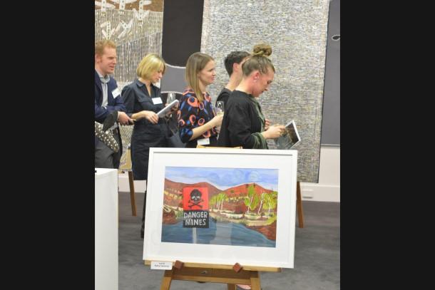 Arnold Bloch Leibler hosts EDONT Art Auction in Melbourne