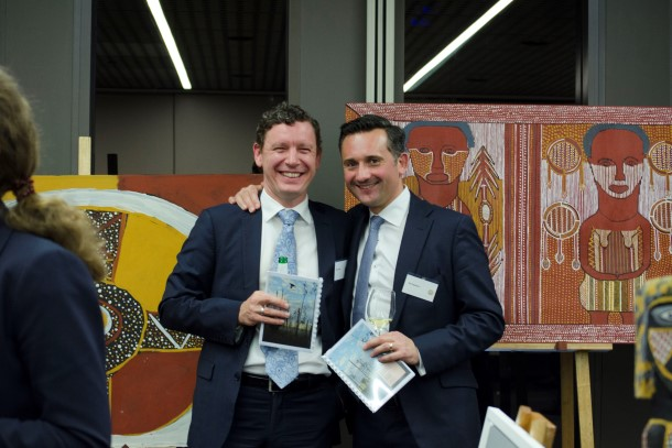 Arnold Bloch Leibler hosts EDONT Art Auction in Melbourne