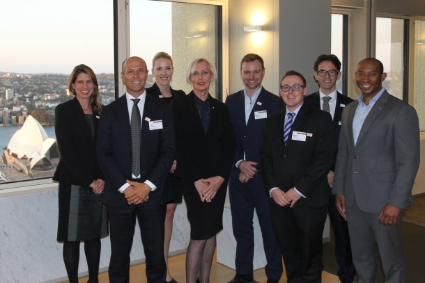 Baker & McKenzie Hosts Group Captain Catherine McGregor AM