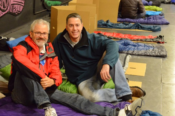 Clayton Utz supports Vinnies CEO Sleepout