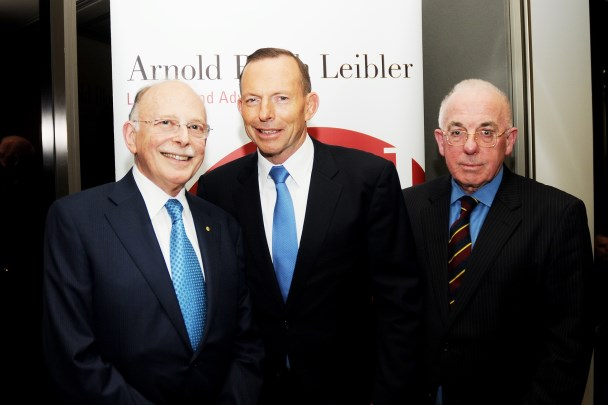 Current and former PM at ABL events