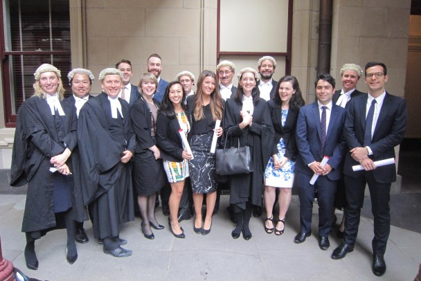 DLA Piper Melbourne graduates admitted