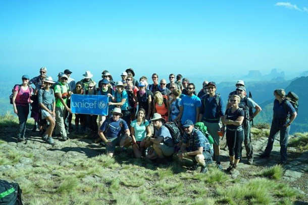 DLA Piper treks the Simien Mountains for UNICEF
