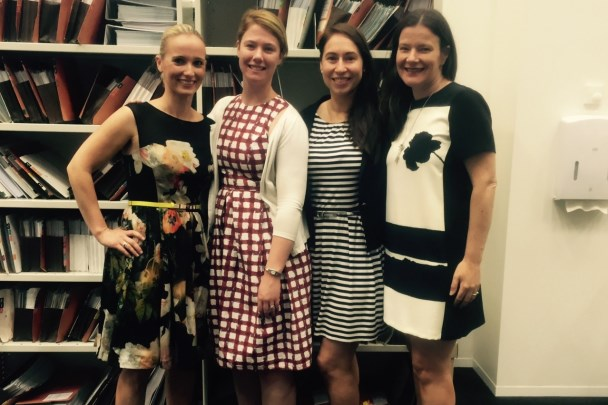 Holding Redlich lawyers dress to impress for Frocktober
