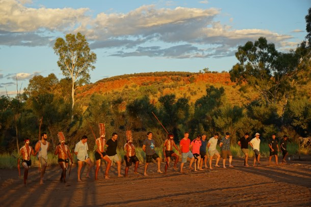 Pinsent Masons travels to the Red Centre in support of the Clontarf Foundation