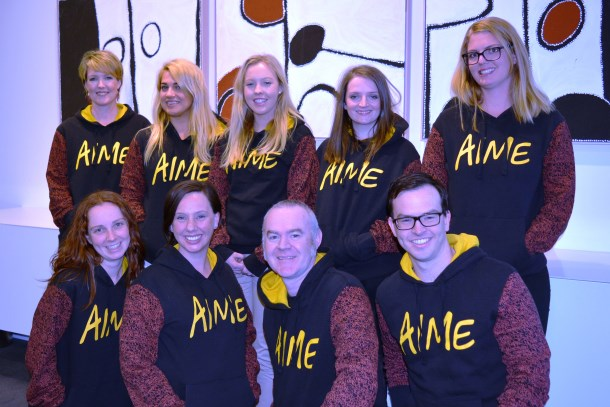 Supporting AIME's National Hoodie Day at ABL