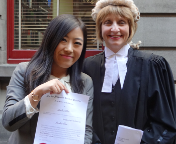 Lawyer admitted to the practice at age 19