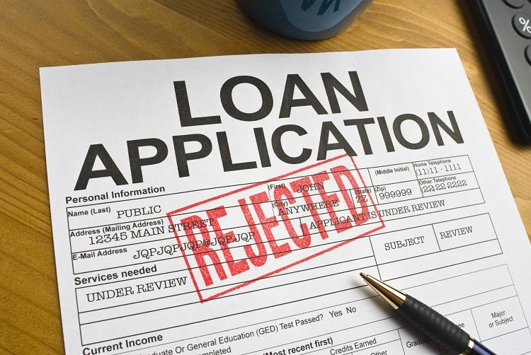 Photo of a declined Loan Application