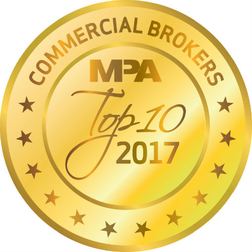 Top 10 Commercial Brokers 2017