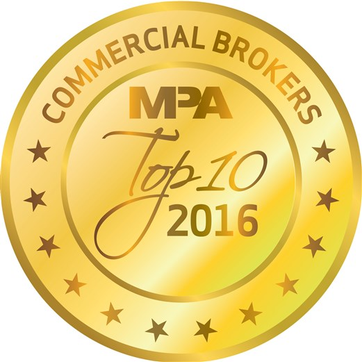 MPA Top Commercial Brokers 2016