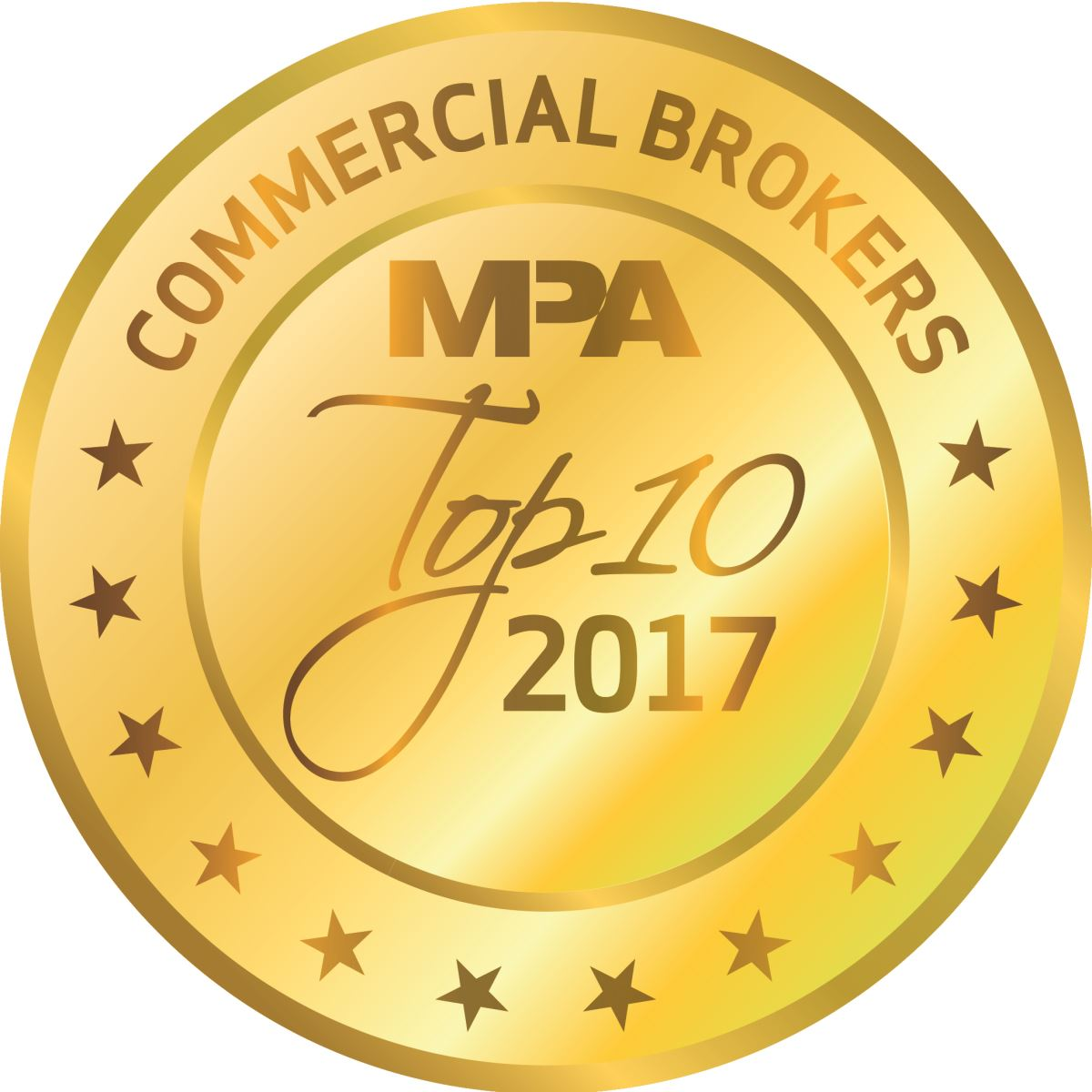 24 hours to be named a Top 10 Commercial Broker