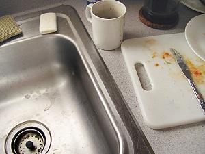 Yucky kitchen, disinterested employees?