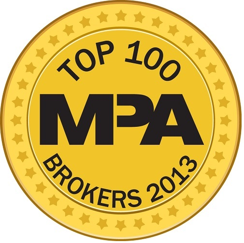 Mortgage Professional America Top 100 Brokers 2013
